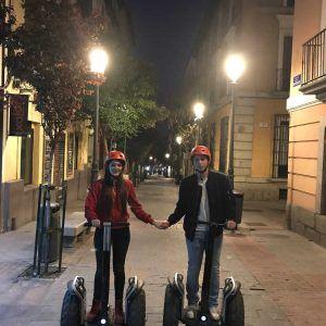 Segway Madrid noche