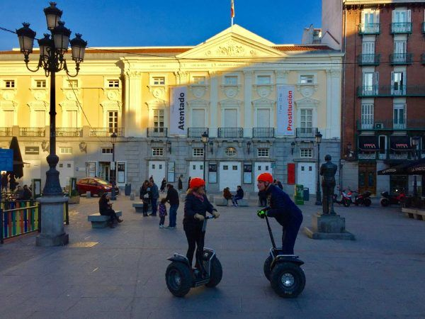 Segway Madrid Santa Ana